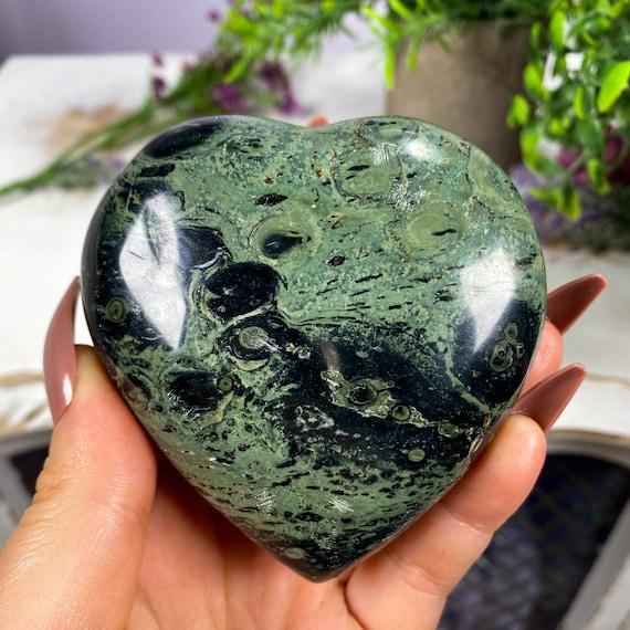 Kambaba Jasper Heart