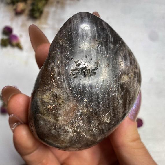 Large Sunstone Palm Stone