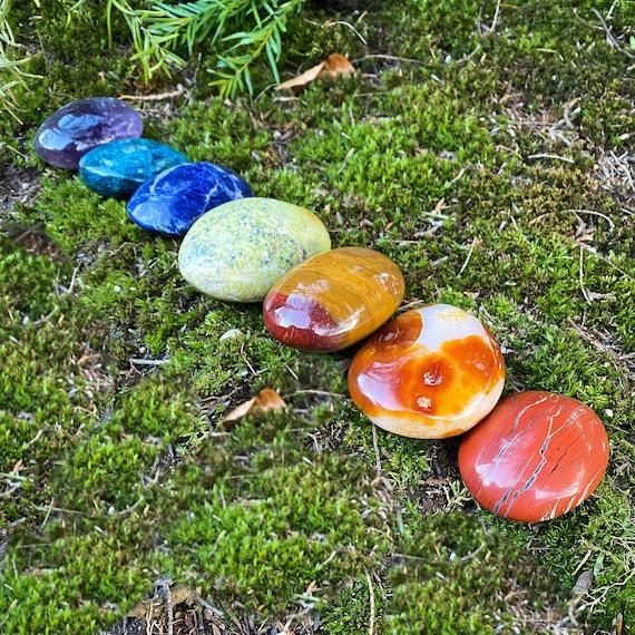 Chakra Palm Stone Set
