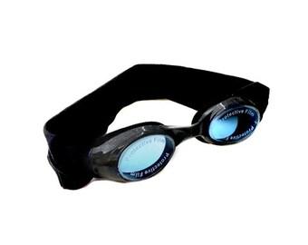 c4fcdfb874373 Black Kids and Adults Splash Swim Goggles