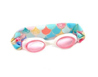cc3aaf334daa Mermaid Kids and Adults Splash Swim Goggles