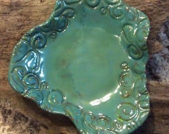 Absract swirl bowl