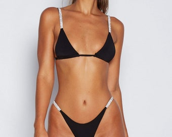 857cbf65a34da Rhinestone Brazilian Bikini ( The Kylie )