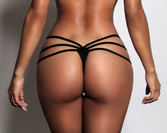 Strappy Thong Bikini bottoms only ( The Eliyah ) 6d3f6474ccef
