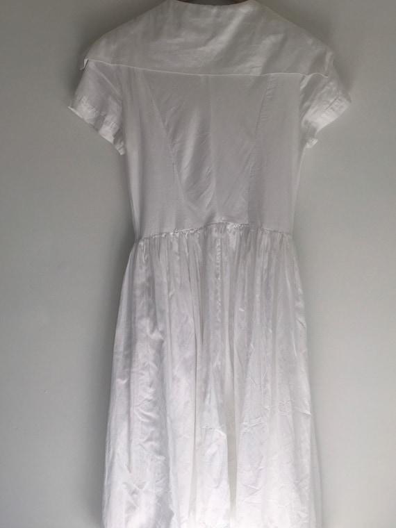 Vintage Vivienne Westwood Anglomania white cotton… - image 5