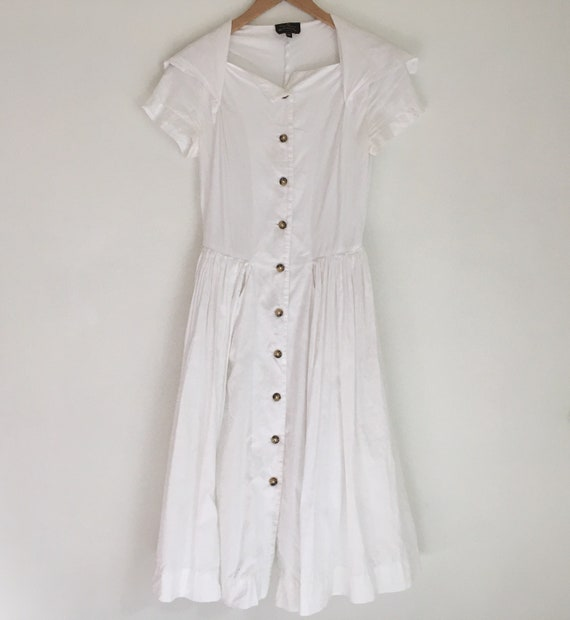 Vintage Vivienne Westwood Anglomania white cotton… - image 2