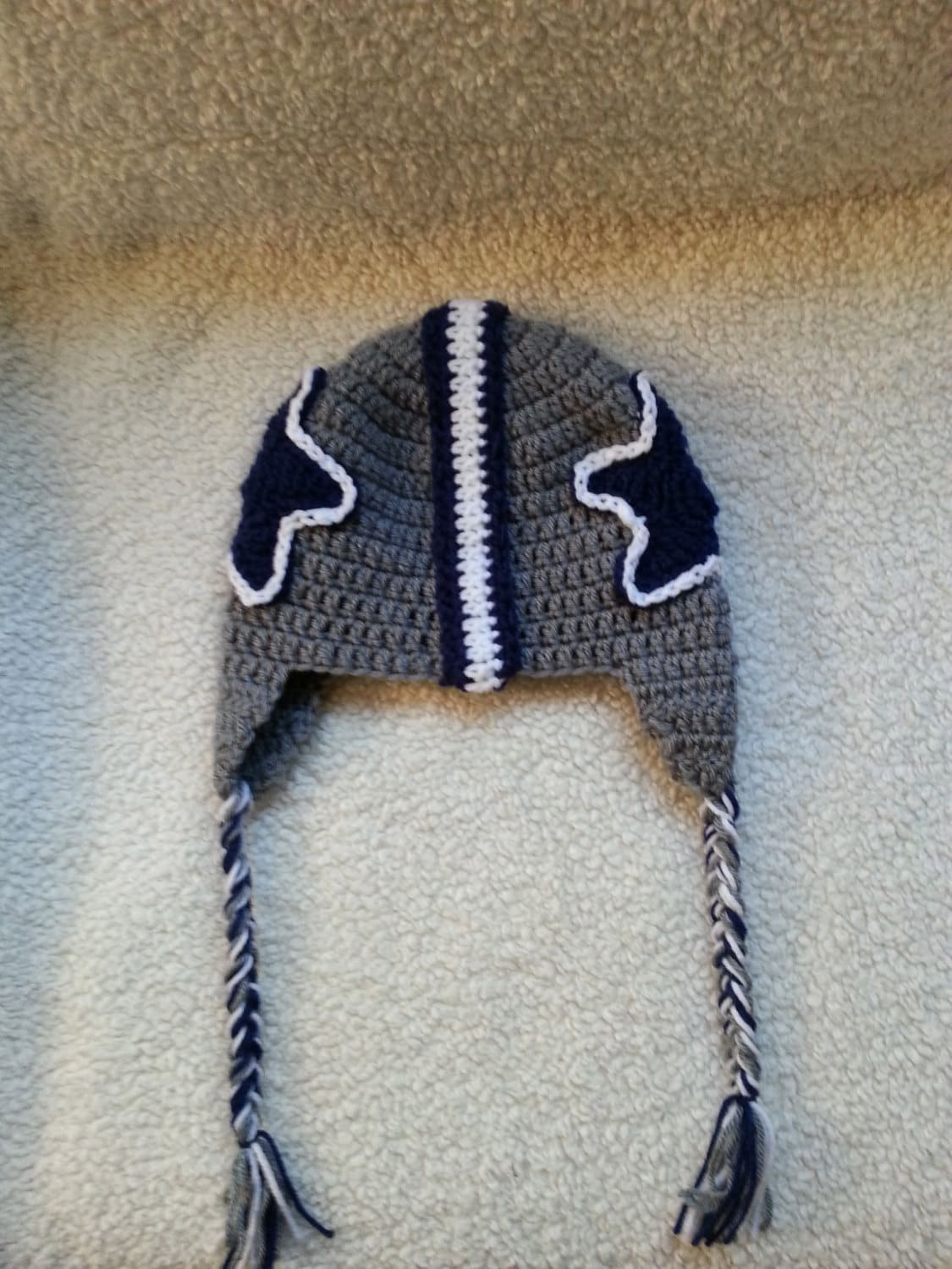 Crochet Dallas Cowboys Hat Etsy