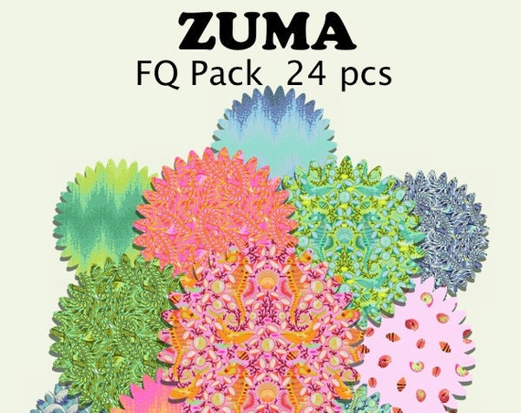 ZUMA FQ PACK  by Tula Pink - Pre-Order