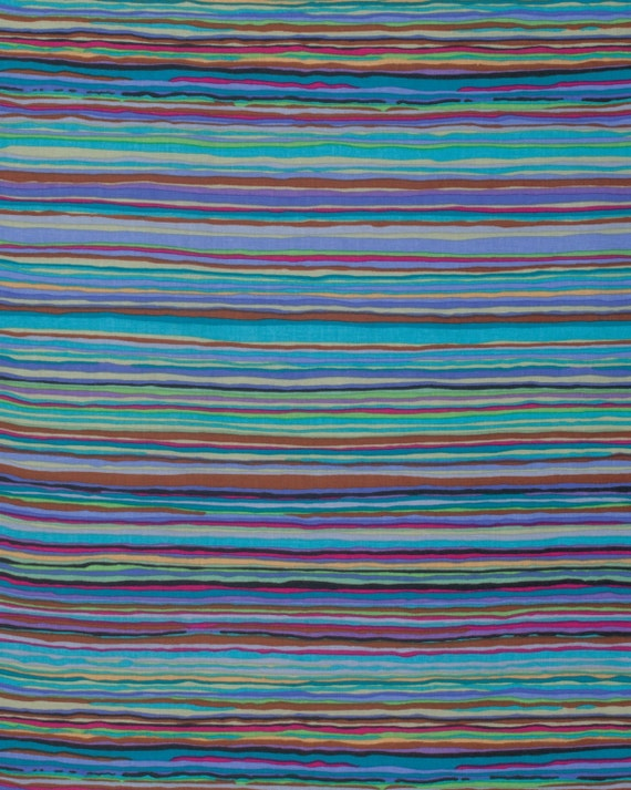 STRATA WINTER Kaffe Fassett Sold in 1/2 yd units Multiples cut in one length