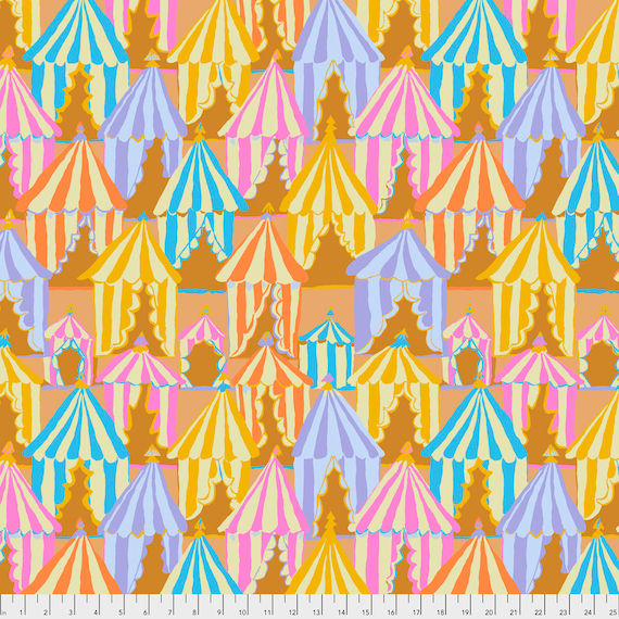 GLAMPING YELLOW Brandon Mably PWBM066.YELLO Sold in 1/2 yard increments