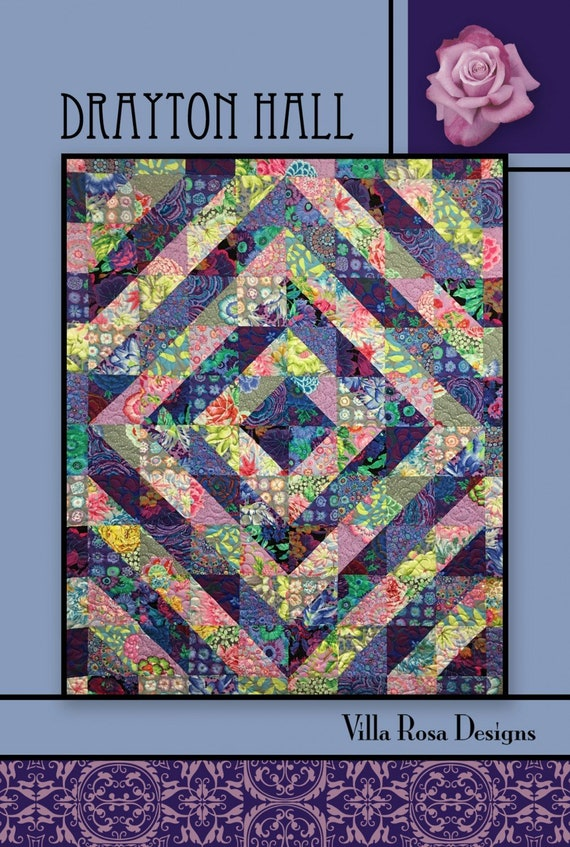 DRAYTON HALL Quilt Kit  All Kaffe Fassett Collective fabrics