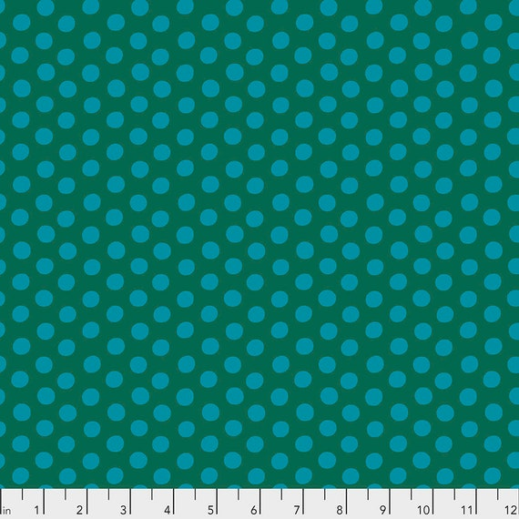 SPOT PACIFIC Green GP70 Kaffe Fassett Collective - Sold in 1/2 yd increments - Multiple units cut as one length