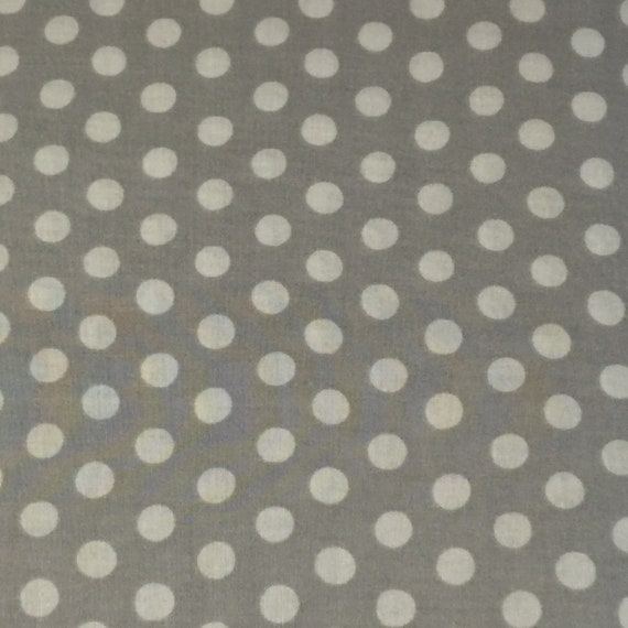 SPOT SILVER  Kaffe Fassett  -  Sold in 1/2 yd Increments - Multiples cut as one length
