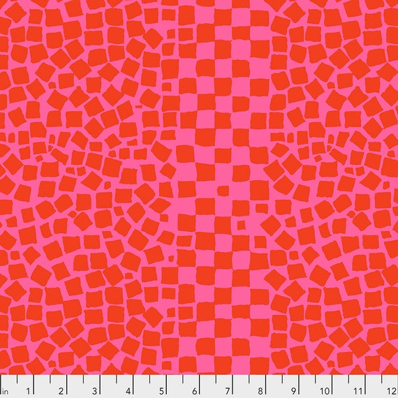 CHIPS Rose PWBM073 - Brandon Mably Kaffe Fassett Collective Sold in 1/2 yd increments