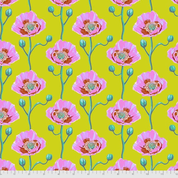 1/2 yd CHEERING SECTION SUNNY - Bright Eyes by Anna Maria Horner pwah154.sunny  Sold in 1/2 yd increments - Multiples cut as one length