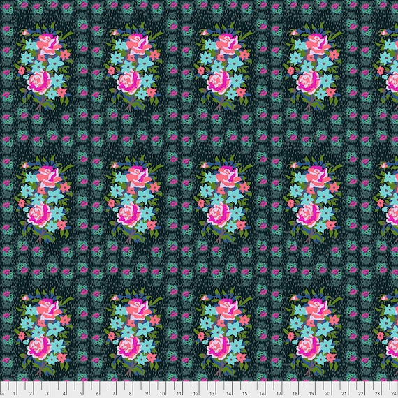 Pre-Order BOUQUET  DIM - Anna Maria Horner - Apr 2020 - 1/2 yd units  - Multiples cut as one length