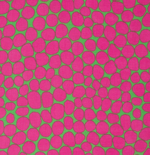 JUMBLE PINK BM053  Brandon Mably for Kaffe Fassett Collective  1/2 yd - Multiples cut as one length  - USA based retailer