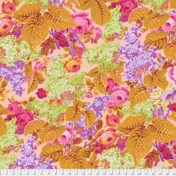 LILAC DUSTY PWPJ068 Philip Jacobs Kaffe Fassett Collectives Sold in 1/2 yd increments