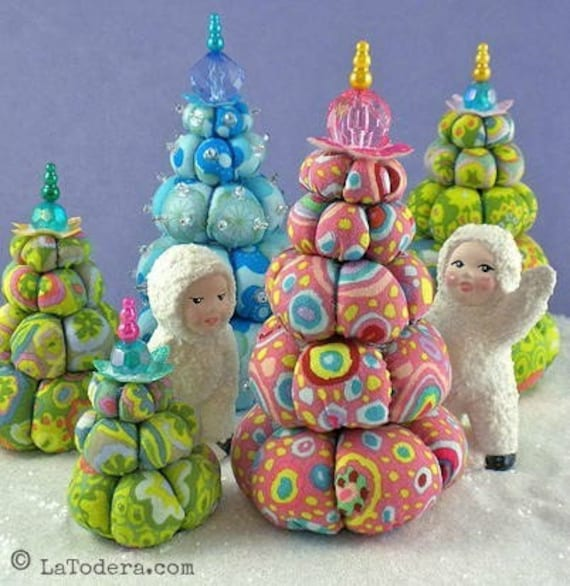 Pre-Order CREAM PUFF TREES Pattern by La Todera  New stock arrives week of 9/17/18