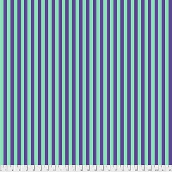 1/2 yd TENT STRIPE IRIS - Tula Pink  pwtp069.iris Sold in 1/2 yard increments - Multiples cut one length