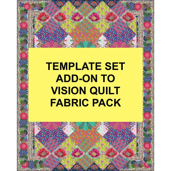 TEMPLATE SET for VISIONS Quilt - Anna Maria Horner - June - October 2021