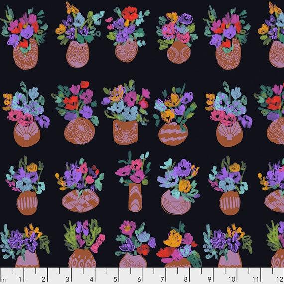 BOUQUET D'ART Garden - Sold in 1/2 yd units Flower Market by Courtney Cerrutti for Anna Maria Horner's CONSERVATORY