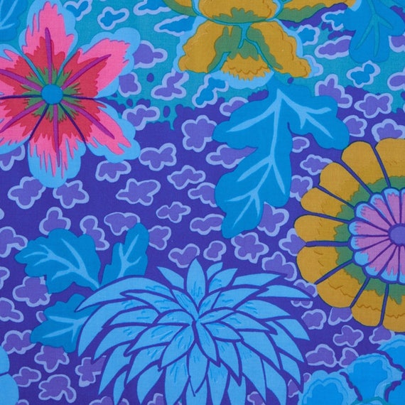DREAM BLUE GP148 by  Kaffe Fassett fabric sold in 1/2 yard increments
