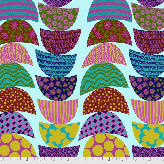 1/2 yd STACKED BREAKFAST  - Bright Eyes by Anna Maria Horner pwah160.breakfast  Sold in 1/2 yd increments - Multiples cut as one length
