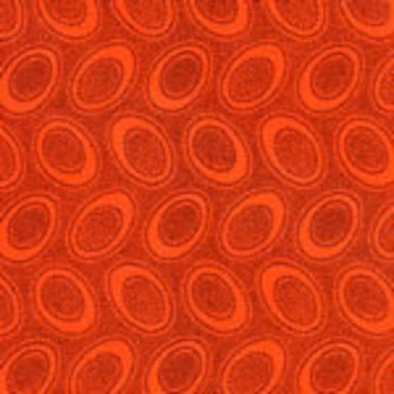 ABORIGINAL DOT  Orange GP71 Kaffe Fassett Collectives Sold in 1/2 yd increments
