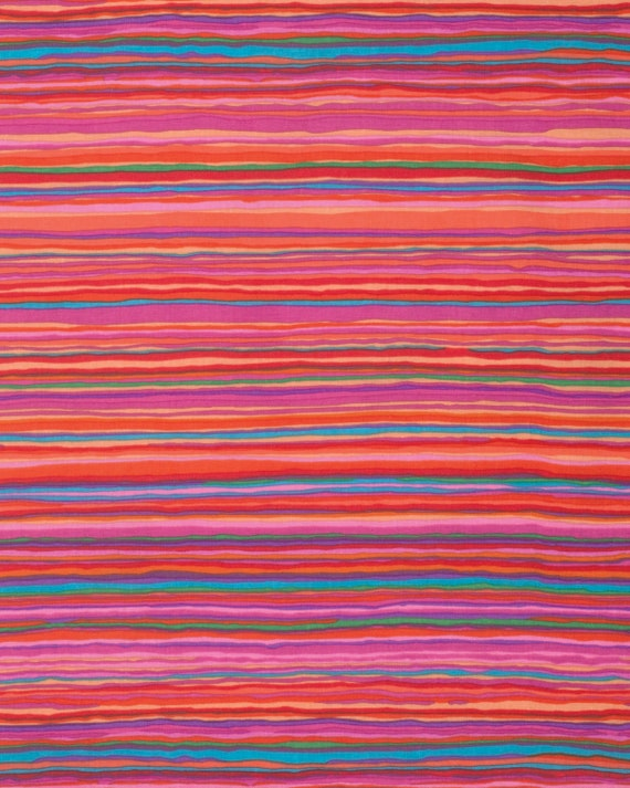 STRATA RED Kaffe Fassett - Sold in 1/2 yd units - Multiples cut in one length