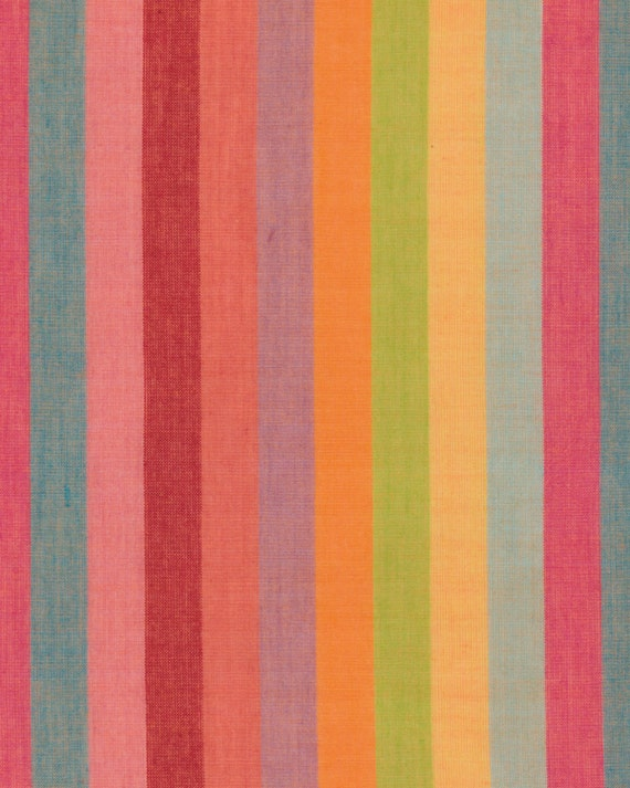 BROAD STRIPE Woven  BLISS abroad.bliss  Kaffe Fassett Sold in 1/2 yard increments Multiples cut as one length