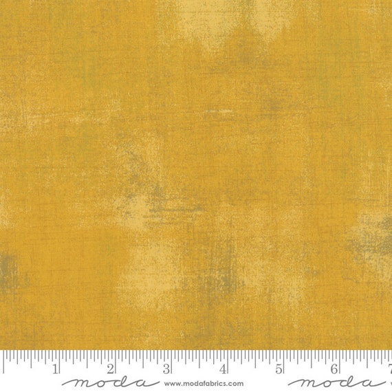 GRUNGE MUSTARD Gold Moda Basics 30150 282 -  Sold in 1/2 yd increments - Multiple units cut as one length