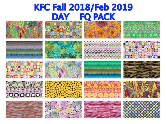 DAY FQ Bundle KFC Fall 2018 Pre-Order Kaffe Fassett Collective's Kaffetastic bundle - Release date February 2019