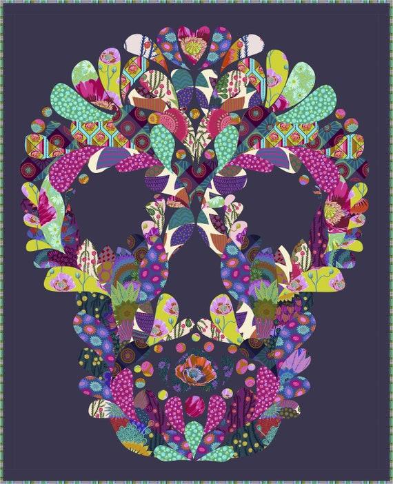 Preorder MR SKELLINGTON Kit  -  Read description! - Anna Maria Horner Bright Eyes fabrics