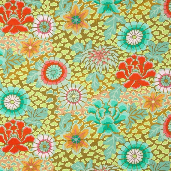 DREAM MOSS GP148   Kaffe Fassett  Sold in 1/2 yd increments  - USA based retailer