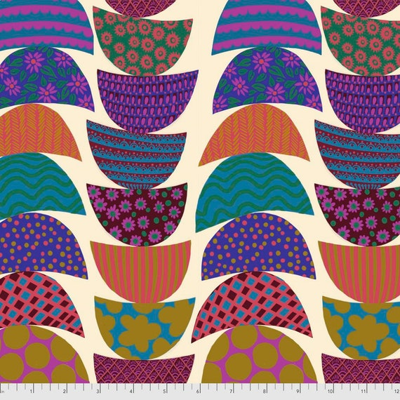 1/2 yd STACKED LUNCH  - Bright Eyes by Anna Maria Horner pwah160.lunch  Sold in 1/2 yd increments - Multiples cut as one length