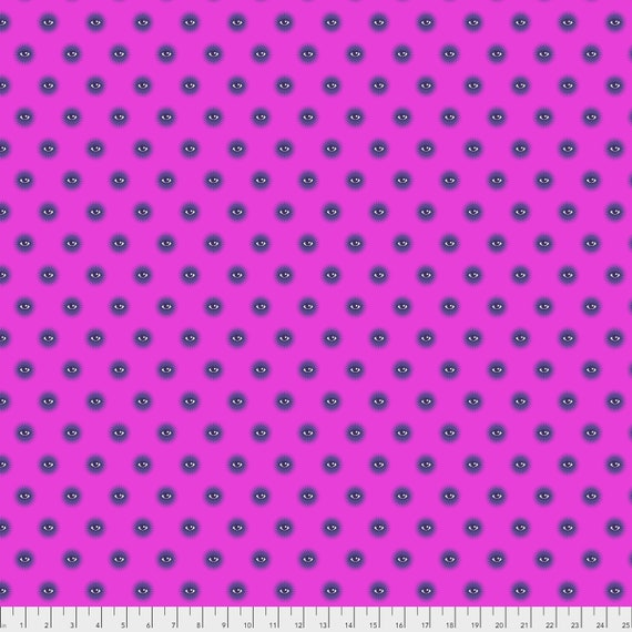 1/2 yd I SEE YOU Clairvoyant De La Luna PWTP112 Tula Pink Multiples cut in one piece
