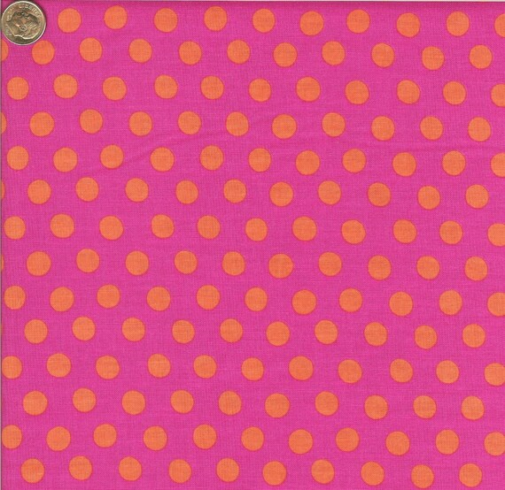 SPOTS FUCHSIA GP70 Kaffe Fassett Collective - Sold in 1/2 yd increments - Multiple units cut as one length