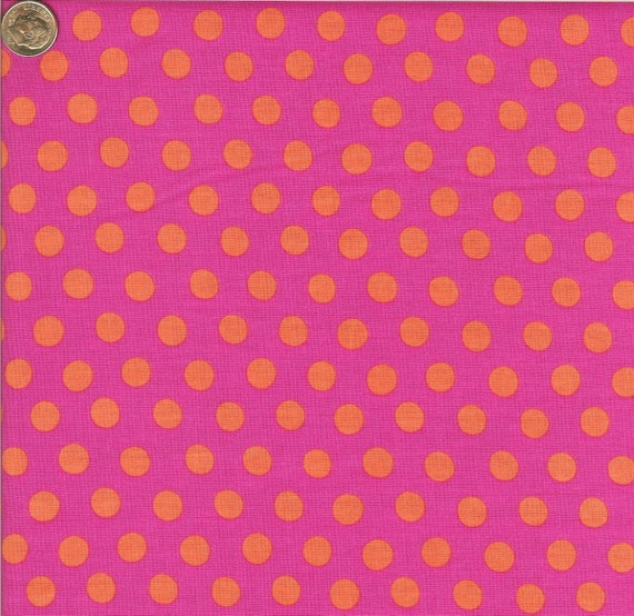 SPOTS FUCHSIA GP70 Kaffe Fassett Collective - 1/2 yard - Multiples cut as one length