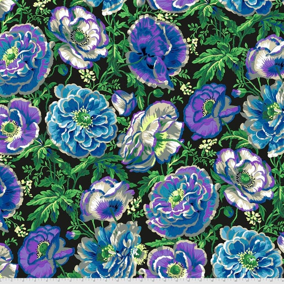 Pre-Order on Separate Order! DOROTHY CONTRAST Philip Jacobs Kaffe Fassett Collective - Sold in 1/2yd units - Multiples cut continuous