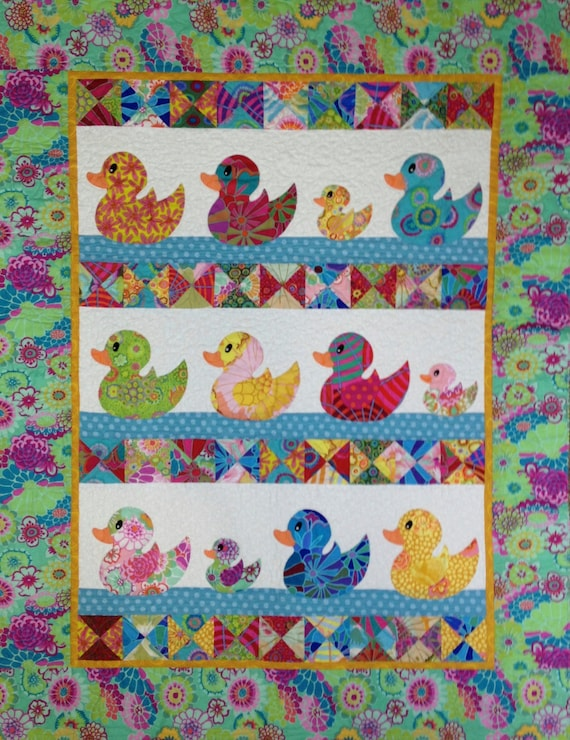 JUST DUCKY QUILT  Pdf Version - Please read carefully
