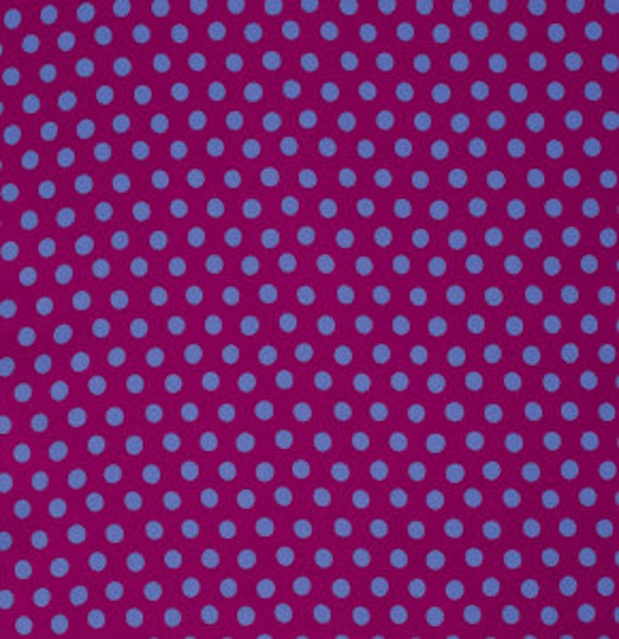 SPOT PLUM GP070   Kaffe Fassett  - Sold in 1/2 yd increments - Multiple units cut as one length