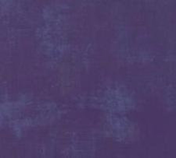 1/2 yd GRUNGE PURPLE Moda Basics 30150 295 - Sold in 1/2 yd increments - Multiple units cut as one length