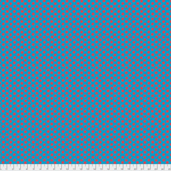 SPOT AQUA PWGP070.AQUA Kaffe Fassett Collectives Sold in 1/2 yd increments