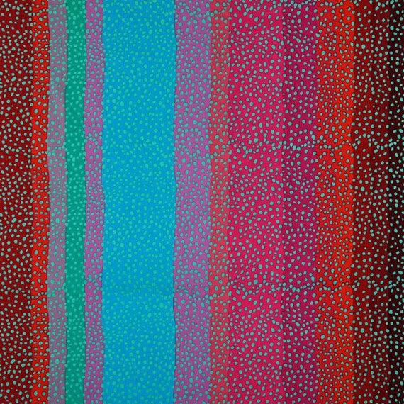 OMBRE RED GP117  Kaffe Fassett Sold in 1/2 yd increments