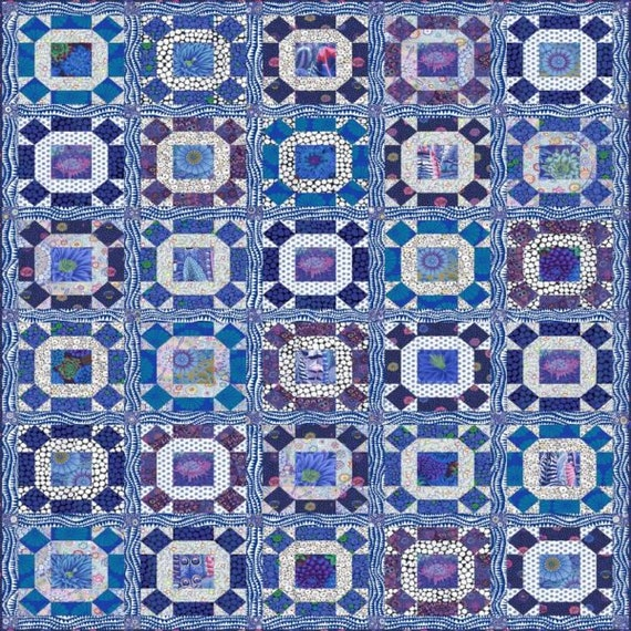 Registration Fee*- GATHERING No MOSS -  Delft Blue - Kaffe Fassett QAL - June - October 2021 - Non-Refundable Reg Fee