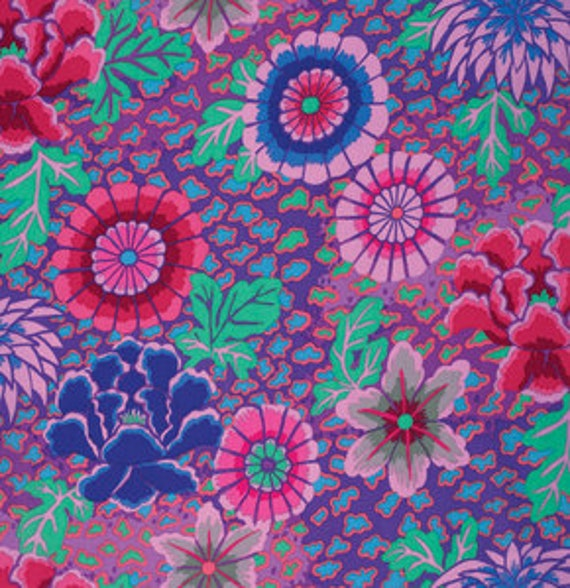 DREAM PURPLE GP148 by Kaffe Fassett  Sold in 1/2 yd increments