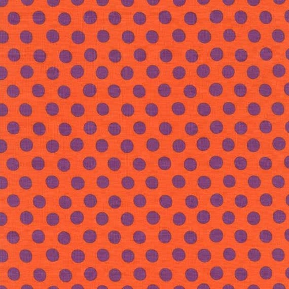 SPOT Orange PWGP70ORANG Kaffe Fassett  1/2 yd - Multiples cut as one length  - USA based retailer
