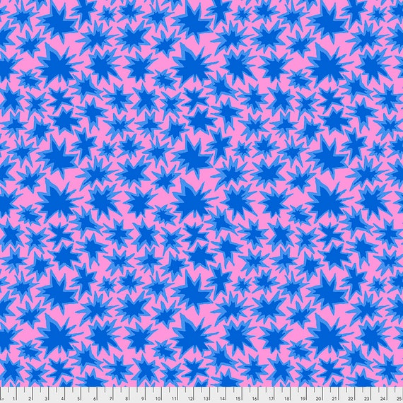 BANG LAVENDER pwbm72 Brandon Mably Kaffe Fassett Collective -  1/2 yd - Multiples cut continuously - Multiples cut in one length