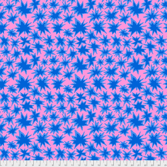Pre-Order - BANG LAVENDER pwbm72 Brandon Mably Kaffe Fassett Collective - Sold in 1/2 yd increments - Multiples cut in one length